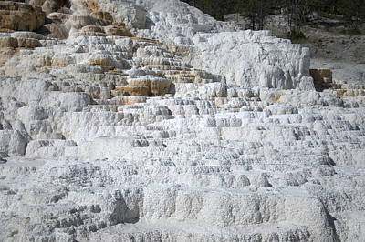 Photograph - Mammoth Hotsprings 3 by Frank Madia