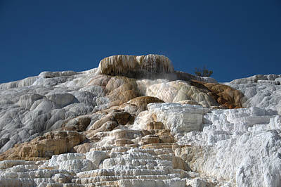 Photograph - Mammoth Hotsprings 4 by Frank Madia