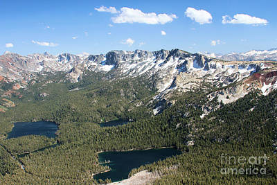 Photograph - Mammoth Lakes Basin by Adam Jewell
