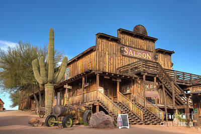 Photograph - Mammoth Saloon by Eddie Yerkish
