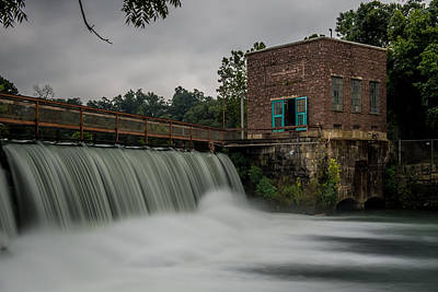 Mammoth Spring Dam Print by Paul Freidlund
