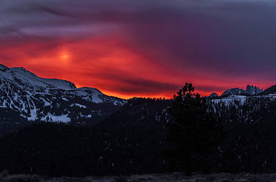 Photograph - Mammoth Sunset by Cat Connor