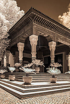 Mamounia Hotel In Marrakech Art Print