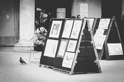 Artists And Artisans Photograph - Man And His Companion by Pati Photography
