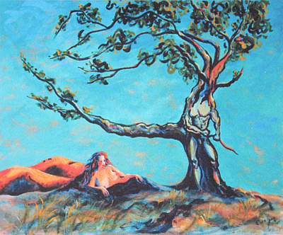 Painting - Man And Woman Of The Earth by Asha Carolyn Young