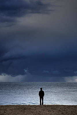 Photograph - Man Before The Storm by Cliff Wassmann