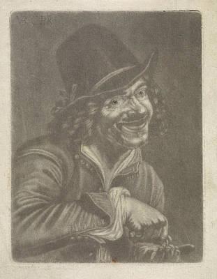 Man Counts Coins The Hearing, Jan Van Der Bruggen Art Print by Jan Van Der Bruggen And Jan Verkolje (i) And Petrus Staverenus