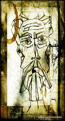 Don Quixote Digital Art - Man From Lamancha 1970  by Ellen Cannon