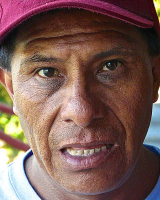Working Cowboy Photograph - Man From Momostenango by Eye Browses