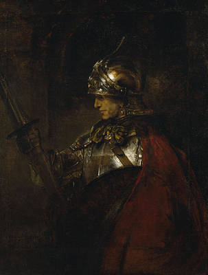 Painting - Man In Armor by Rembrandt van Rijn