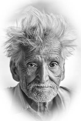 Photograph - Man Of Jaipur #2 by Brad Grove