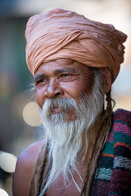 Photograph - Man Of Jodhpur by Brad Grove