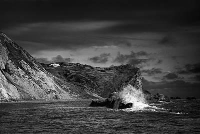Thomas Kinkade Rights Managed Images - Man OWar Rocks Royalty-Free Image by Ian Good