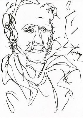 Drawing - Man by Rachel Scott