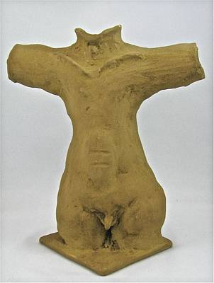 Sculpture - Man Renewed by Mario MJ Perron