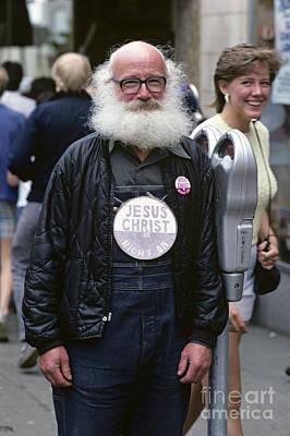 Photograph - Man With Beard by Jim Corwin