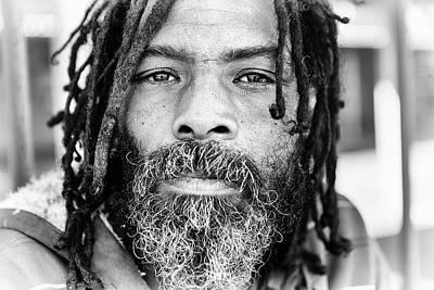 Photograph - Man With Dreadlocks by Rapideye
