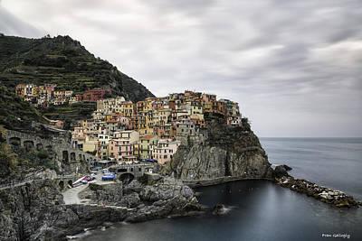 Photograph - Manarola Cinque Terre by Fran Gallogly