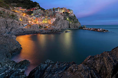 Cinque Terre Photograph - Manarola Lifestyle by Renee Doyle
