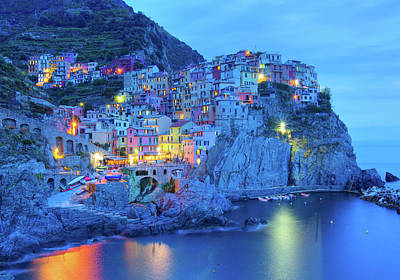 House Photograph - Manarola by M Swiet Productions