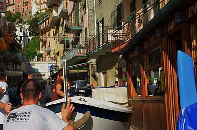 Photograph - Manarola  Street - Cinque Terre by Dany Lison
