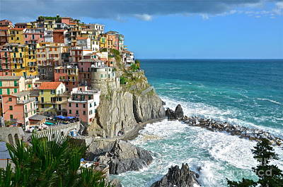 Photograph - Manarola Via Del Amore by Amy Fearn