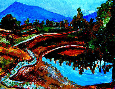 Painting - Manas Sarovr Lake-10 by Anand Swaroop Manchiraju