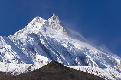 Photograph - Manaslu Peak - Nepal by Craig Lovell