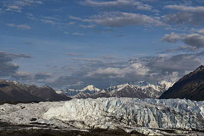 Photograph - Manasuka Glacier by David Arment