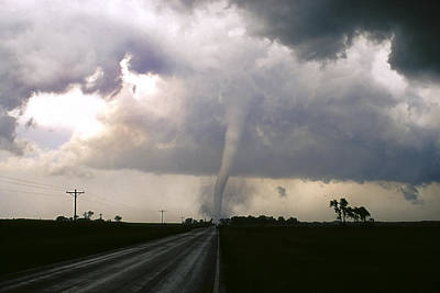 Photograph - Manchester Tornado 5 Of 6 by Jason Politte