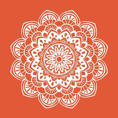 Henna Painting - Mandala 1 by Tamara Robinson