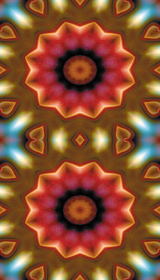Mandala Digital Art - Mandala 103 For Iphone Double by Terry Reynoldson