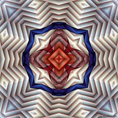 Mandala 11 Art Print by Terry Reynoldson