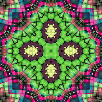 Healing Art Digital Art - Mandala 112 by Terry Reynoldson