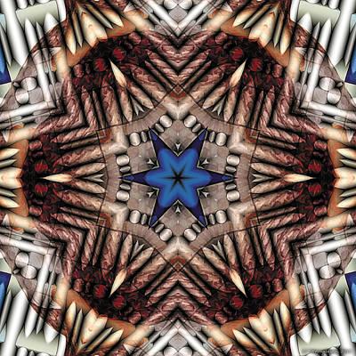 Mandala 13 Art Print by Terry Reynoldson