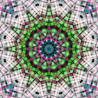 Sacred Art Digital Art - Mandala 27 by Terry Reynoldson