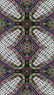 Mandala 32 For Iphone Double Art Print by Terry Reynoldson