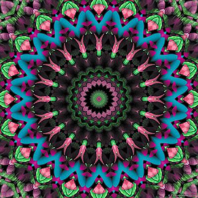 Mandala 35 Art Print by Terry Reynoldson