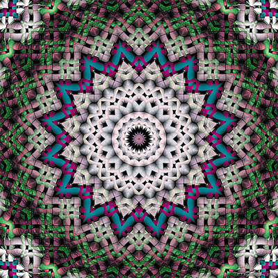 Mandala 37 Art Print by Terry Reynoldson