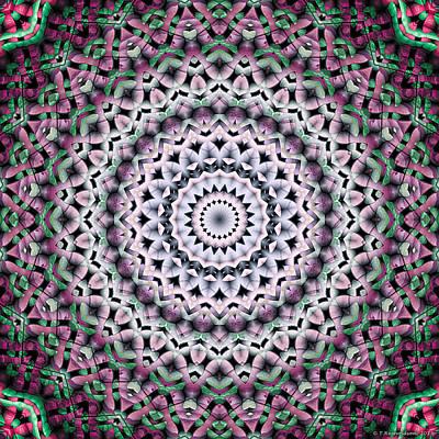 Mandala 38 Art Print by Terry Reynoldson