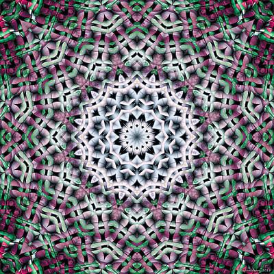 Sublime Digital Art - Mandala 39 by Terry Reynoldson