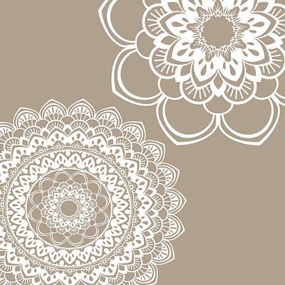 Henna Painting - Mandala 5 by Tamara Robinson