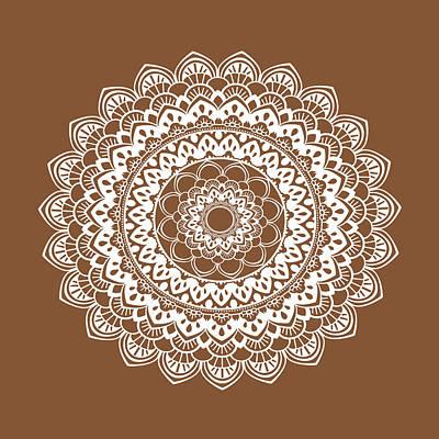 Henna Painting - Mandala 6 by Tamara Robinson