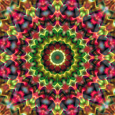 Mandala 70 Art Print by Terry Reynoldson