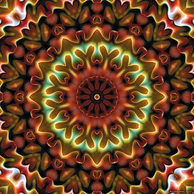 Mandala 71 Art Print by Terry Reynoldson