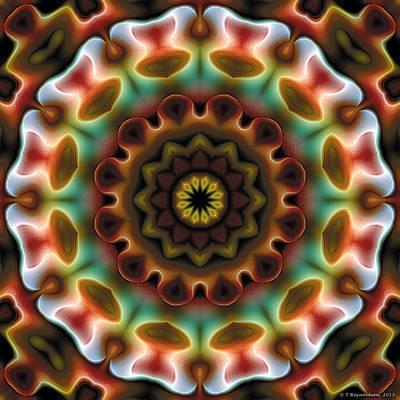 Mandala 74 Art Print by Terry Reynoldson
