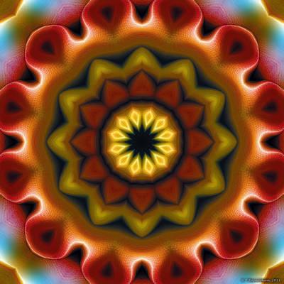 Spiritual Art Digital Art - Mandala 75 by Terry Reynoldson