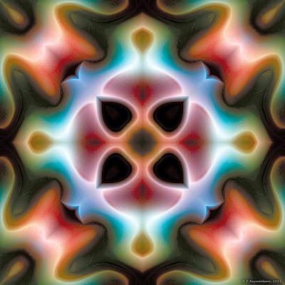Mandala 82 Art Print by Terry Reynoldson