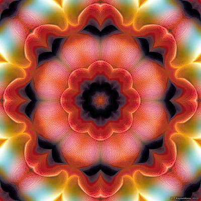 Sacred Art Digital Art - Mandala 91 by Terry Reynoldson