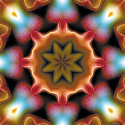 Symbolic Art Digital Art - Mandala 94 by Terry Reynoldson